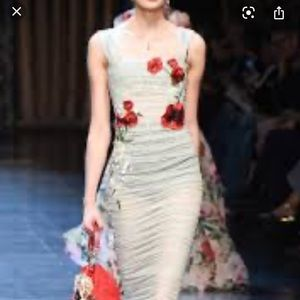 Dolce Gabbana Runway Dress